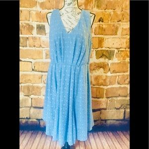 Torrid Dress Periwinkle Blue Size 12
